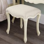 Juliette Shabby Chic Champagne Stool Juliette Shabby Chic Champagne Stool. Stunning cream French stool with upholstered seat. STURDY and ASSEMBLED Juliette Shabby Chic Champagne Stool 0 150x150