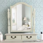 Juliette Shabby Chic Champagne Trinket Mirror, Cream dressing table mirror with 2 drawers, adjustable angle mirror Juliette Shabby Chic Champagne Trinket Mirror Cream dressing table mirror with 2 drawers adjustable angle mirror 0 150x150