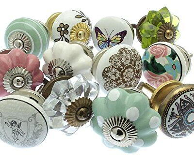 Mixed Set of Vintage Style Ceramic Cupboard Knobs x Pack 12 (MG-251) - 'Mango Tree' TM Registered Product Mixed Set of Vintage Style Ceramic Cupboard Knobs x Pack 12 (MG-251) – 'Mango Tree' TM Registered Product Mixed Set of Vintage Style Ceramic Cupboard Knobs x Pk 12 GEE 02 Vintage Chic TM 0 400x333