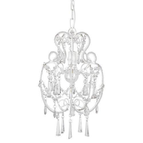 modern cream white shabby chic chandelier pendant light fitting shabbychic. Black Bedroom Furniture Sets. Home Design Ideas