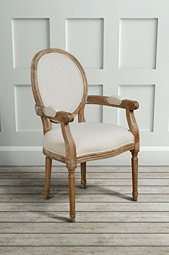 My Furniture French Louis Style Shabby Chic Oak Oval