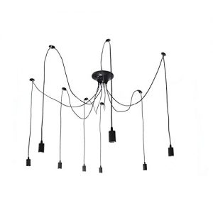 Onever e27 loft antique chandelier modern chic industrial dining zoom aloadofball Gallery
