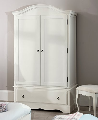 Romance Double Wardrobe Stunning French Antique White