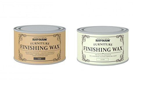 Rust Oleum Chalk Chalky Furniture Paint Finishing Wax