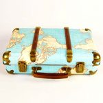 Sass & Belle Around The World Vintage Map Suitcase Sass Belle Around The World Vintage Map Suitcase 0 150x150
