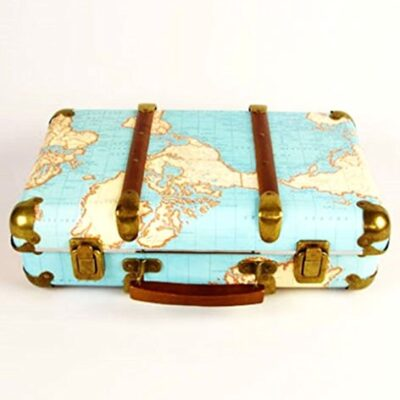 Sass & Belle Around The World Vintage Map Suitcase Sass & Belle Around The World Vintage Map Suitcase Sass Belle Around The World Vintage Map Suitcase 0 400x400