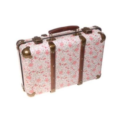 Sass and Belle Vintage Floral Suitcase - Roses Sass and Belle Vintage Floral Suitcase – Roses Sass and Belle Vintage Floral Suitcase Roses 0 400x400