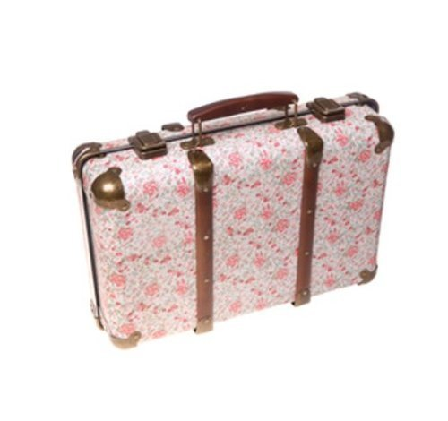 Sass and Belle Vintage Floral Suitcase – Roses Sass and Belle Vintage Floral Suitcase Roses 0