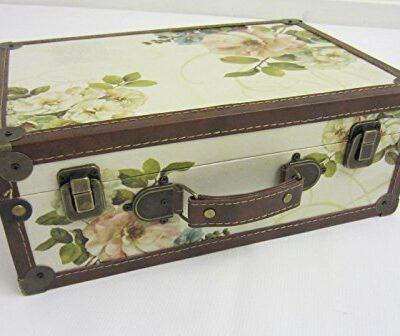 "Shabby Chic ""Vintage Floral"" Design Suitcase - Small Shabby Chic ""Vintage Floral"" Design Suitcase – Small Shabby Chic Vintage Floral Design Suitcase Small 0 400x336"