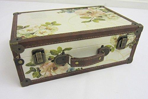 "Shabby Chic ""Vintage Floral"" Design Suitcase – Small Shabby Chic Vintage Floral Design Suitcase Small 0"