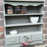 Small Pretty Wall Display Unit in French Grey (green) Small Pretty Wall Display Unit in French Grey green 0 150x150
