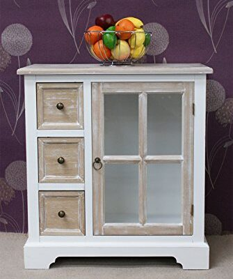 Stunning Shabby Chic Casamoré Cotswold 3 Drawer, 1 Glass Door Unit Stunning Shabby Chic Casamoré Cotswold 3 Drawer, 1 Glass Door Unit Stunning Shabby Chic Casamor Cotswold 3 Drawer 1 Glass Door Unit 0 335x400
