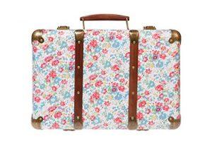 Vintage Spring Floral Suitcase Vintage Spring Floral Suitcase 0 300x200