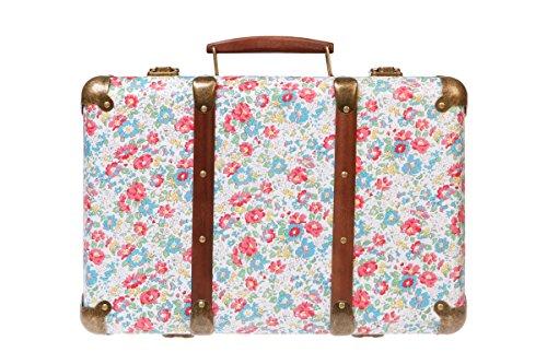 Vintage Spring Floral Suitcase Vintage Spring Floral Suitcase 0