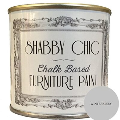 Winter Grey Furniture Paint great for creating a shabby chic style. 1 litre Winter Grey Furniture Paint great for creating a shabby chic style. 1 litre Winter Grey Chalk Based Furniture Paint great for creating a shabby chic style 250ml 0 400x400