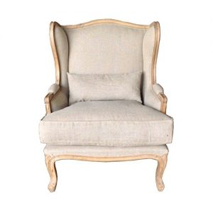 lounge furniture in retro touch finish upholstery in natural linen