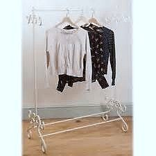brand new cream vintage look clothes rail Brand New Cream Vintage Look Clothes Rail Brand New Cream Vintage Look Clothes Rail 0