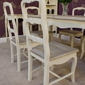Classic Casamore Devon Rectangular Dining Table And 6 Dining Chairs In French