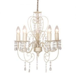 Distressed White Shabby Chic 5 Way SMD LED Ceiling Light Chandelier Distressed White Shabby Chic 5 Way SMD LED Ceiling Light Chandelier Distressed White Shabby Chic 5 Way SMD LED Ceiling Light Chandelier 0 300x300