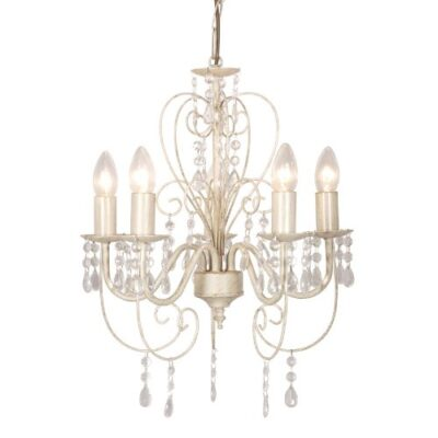 distressed white shabby chic 5 way smd led ceiling light chandelier Distressed White Shabby Chic 5 Way SMD LED Ceiling Light Chandelier Distressed White Shabby Chic 5 Way SMD LED Ceiling Light Chandelier 0 400x400