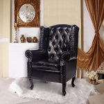 Homcom Antique High Back Chair PU Leather Seat Chesterfield Type Armchair Queen Anne Fireside Chair w/ Cushion Homcom Antique High Back Chair PU Leather Seat Chesterfield Type Armchair Queen Anne Fireside Chair w/ Cushion Homcom Antique High Back Chair PU Leather Seat Chesterfield Type Armchair Queen Anne Fireside Chair w Cushion 0 150x150