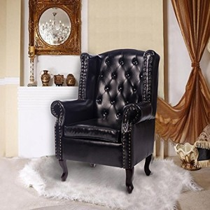 Homcom Antique High Back Chair PU Leather Seat Chesterfield Type Armchair Queen Anne Fireside Chair w/ Cushion Homcom Antique High Back Chair PU Leather Seat Chesterfield Type Armchair Queen Anne Fireside Chair w/ Cushion Homcom Antique High Back Chair PU Leather Seat Chesterfield Type Armchair Queen Anne Fireside Chair w Cushion 0 300x300