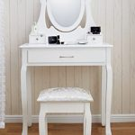New Amalfi AGTC0009 Dressing Table Mirror Stool Set Shabby Chic Vanity Bedroom Dresser Amalfi | Dressing Table, Mirror & Stool Set| Premium Quality | Laura James | Shabby Chic New Amalfi AGTC0009 Dressing Table Mirror Stool Set Shabby Chic Vanity Bedroom Dresser 0 150x150