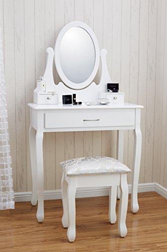 New Amalfi Agtc0009 Dressing Table Mirror Stool Set Shabby