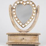 Shabby Chic Wooden Petit Mirror Heart Dressing Table With Drawer Shabby Chic Wooden Petit Mirror Heart Dressing Table With Drawer Shabby Chic Wooden Petit Mirror Heart Dressing Table With Drawer 0 150x150