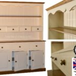 100% Solid Wood Spice Drawer Dresser, 5ft Wide Handcrafted & Cream Painted Contrasting Welsh Dresser. No flat packs, No assembly (5WDSP) 100 Solid Wood Spice Drawer Dresser 5ft Wide Handcrafted Cream Painted Contrasting Welsh Dresser No flat packs No assembly 5WDSP 0 150x150