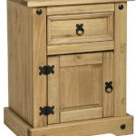 Corona 1 Door 1 Drawer Bedside Corona Bedside Chest 1 drawer 1 door 0 150x150