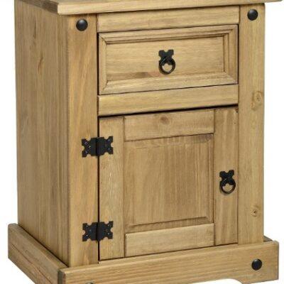 corona 1 door 1 drawer bedside Corona 1 Door 1 Drawer Bedside Corona Bedside Chest 1 drawer 1 door 0 400x400