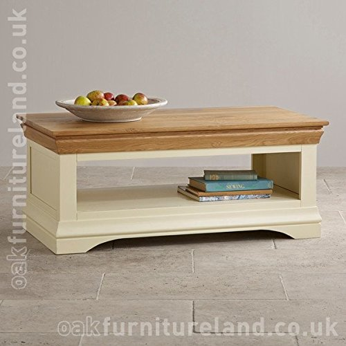 Country Cottage Natural Oak and Painted Coffee Table Country Cottage Natural Oak and Painted Coffee Table 0
