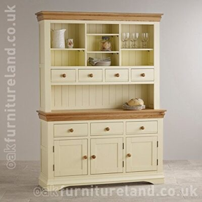 country cottage natural oak and painted large dresser Country Cottage Natural Oak and Painted Large Dresser Country Cottage Natural Oak and Painted Large Dresser 0 400x400