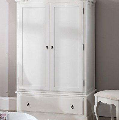 romance double wardrobe with drawer. stunning french 2 door wardrobe. Romance double wardrobe with drawer. Stunning French 2 door wardrobe. Romance robe with drawer 0 396x400