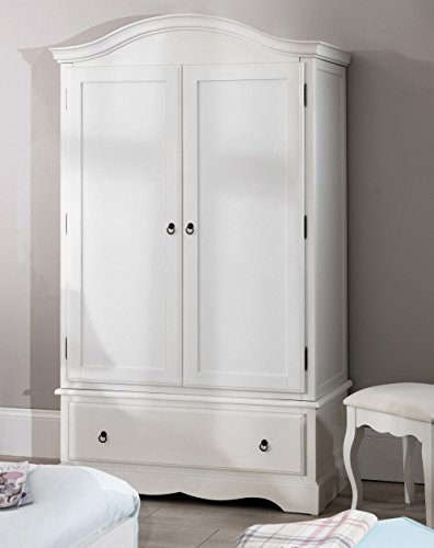 Romance double wardrobe with drawer. Stunning French 2 door wardrobe. Romance robe with drawer 0