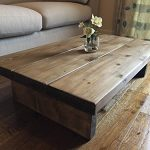 Solid Rustic Handmade Pine coffee table, finished in a Chunky Country Oak Solid Rustic Handmade Pine coffee table finished in a Chunky Country Oak FREE DELIVERY 0 150x150