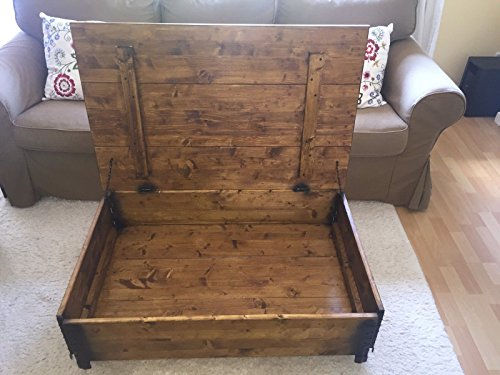 Uncle Joe 180 S Vintage Style Shabby Chic Coffee Table With