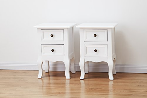 Windsor Agtc0013 Double Set Of Two Bedside Tables