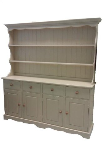 wye pine cottage painted welsh dresser - complete Wye Pine Cottage Painted Welsh Dresser – Complete Wye Pine Cottage Painted Welsh Dresser Distressed 0