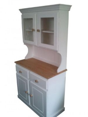 Wye Pine Painted Glazed Welsh Dresser – Complete Wye Pine Painted Glazed Welsh Dresser Distressed 0 300x400