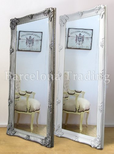 Abbey Large Full Length Shabby Chic, Large Leaner Mirrors