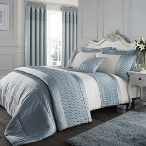 catherine lansfield signature quilted luxury satin duvet cover set, duck egg, king Catherine Lansfield Signature Quilted Luxury Satin Duvet Cover Set, Duck Egg, King Catherine Lansfield Signature Quilted Luxury Satin Duvet Cover Set Duck Egg King 0 300x300