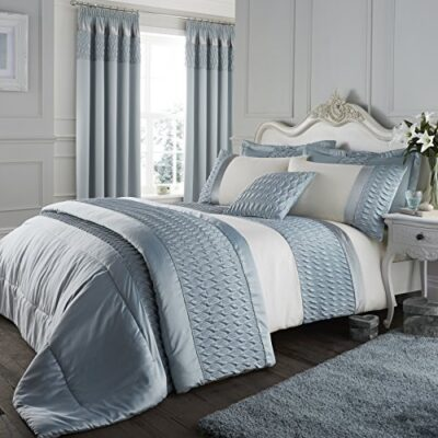 catherine lansfield signature quilted luxury satin duvet cover set, duck egg, king Catherine Lansfield Signature Quilted Luxury Satin Duvet Cover Set, Duck Egg, King Catherine Lansfield Signature Quilted Luxury Satin Duvet Cover Set Duck Egg King 0 400x400