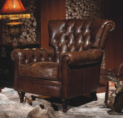 chesterfield real leather settle industrial chic armchair vintage clubchair Chesterfield Real Leather Settle Industrial Chic Armchair Vintage Clubchair Chesterfield Real Leather Settle Industrial Chic Armchair Vintage Clubchair 0