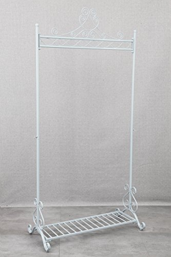Chic Hanging Clothes Rail Metal Garment Coat Clothing Rack
