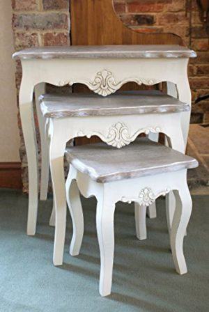 devon cream painted nest of tables shabby chic stylish french design Devon Cream Painted Nest of Tables Shabby Chic Stylish French Design Devon Cream Painted Nest of Tables Shabby Chic Stylish French Design 0 300x448
