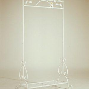 Dipamkar 174 Vintage White Metal Hanging Clothes Rail