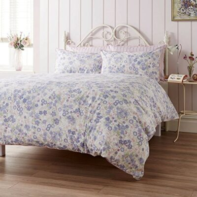 ditton hill emmeline lavender super king size duvet cover set Ditton Hill Emmeline Lavender Super King Size Duvet Cover Set Ditton Hill Emmeline Duvet Covers Reversible Floral Design 100 Cotton Bedding 180 Thread Count Easy Care Quilt Set Lavender Purple 0 400x400