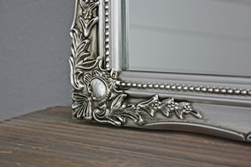 7dfa2db393529 ... antique style mirror with fine ornaments large 37x47cm Elbmbel silver  shabby chic. On Sale. Free Shipping Free Shipping. Zoom. £29.90 ...